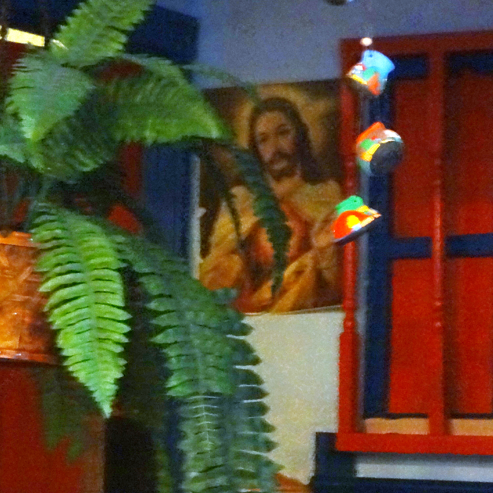 The Sacred Heart at Casa Vieja