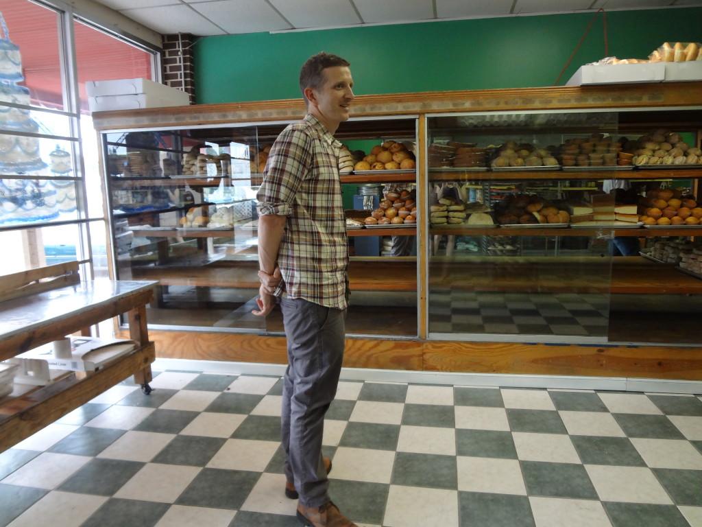 La Sultana Bakery interior