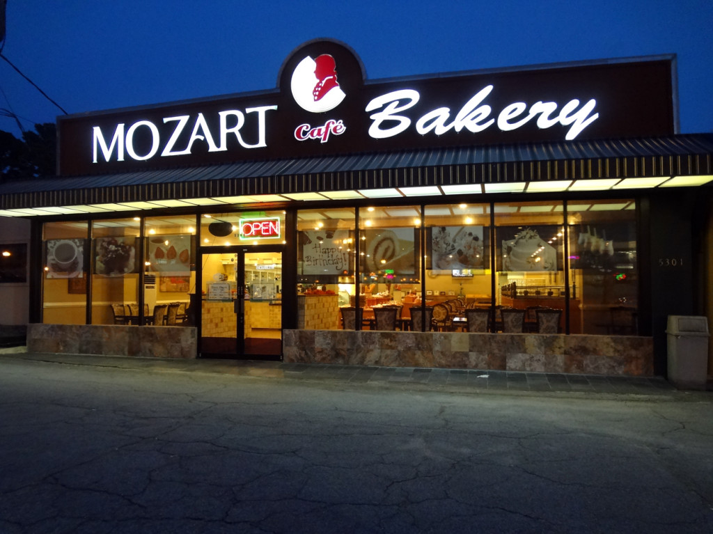 Mozart Bakery on Buford Highway