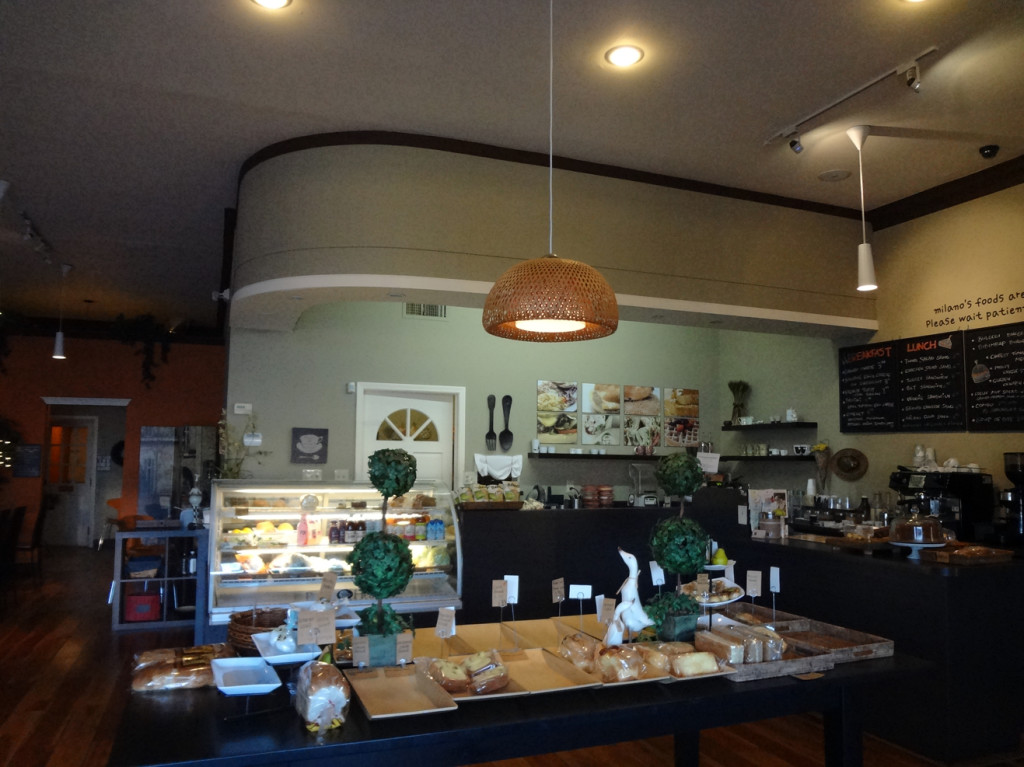 Milano Bakery and Cafe on Buford Highway interior