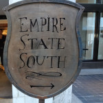 Empire State South entrance sign