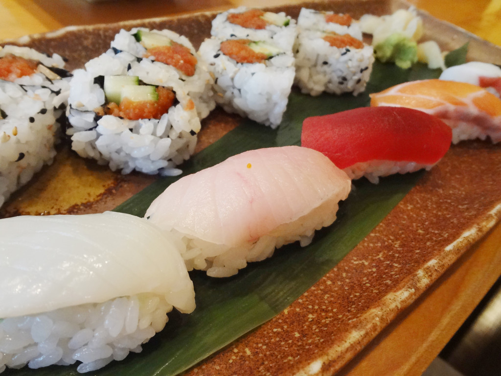 My sushi lunch special from Sushi Huku