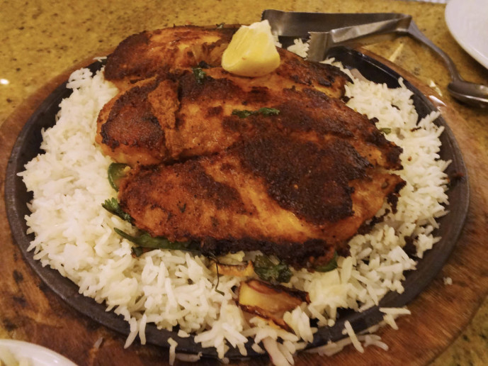 Madras Masala Grilled Fish