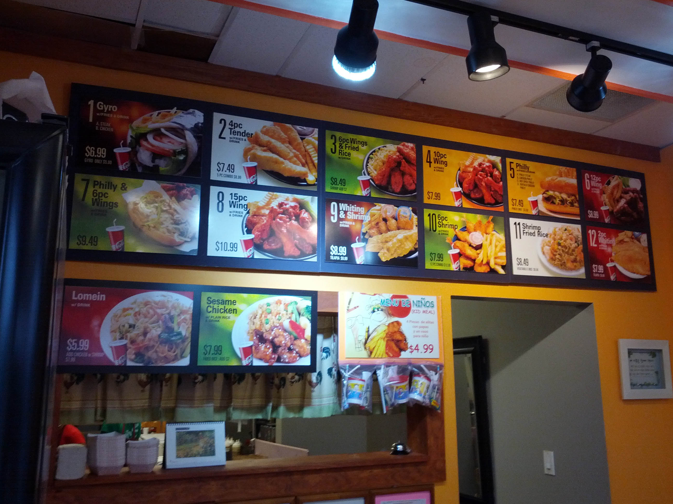 Family Wings And Philly menu