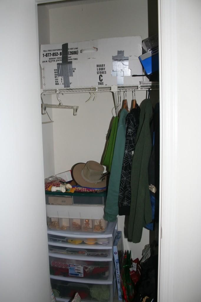 Storage Closet Post-Cleanup