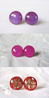 Earrings for minimalist wardrobe
