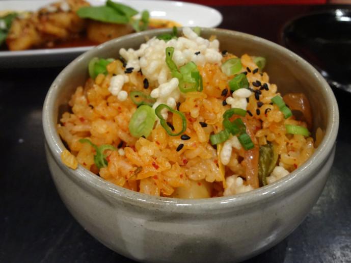 kimchi rice from Sobban Diner