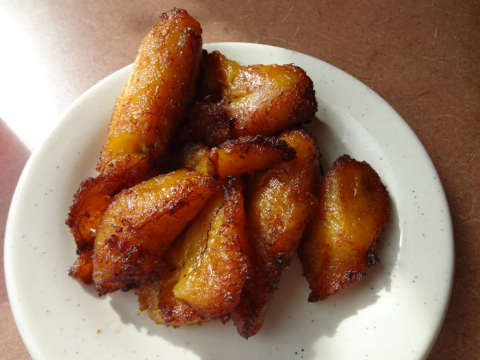Maduros - fried plantains
