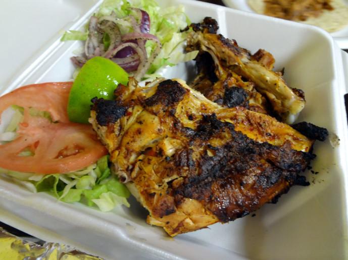 El Autentico Sinaloense Pollos Asados half chicken