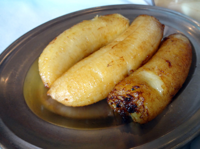 Fried plantains from Fogo