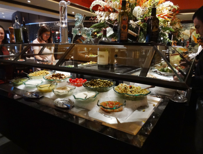 Fogo de Chao Atlanta salad bar