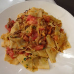 Mom's duck pappardelle at Veni Vidi Vici