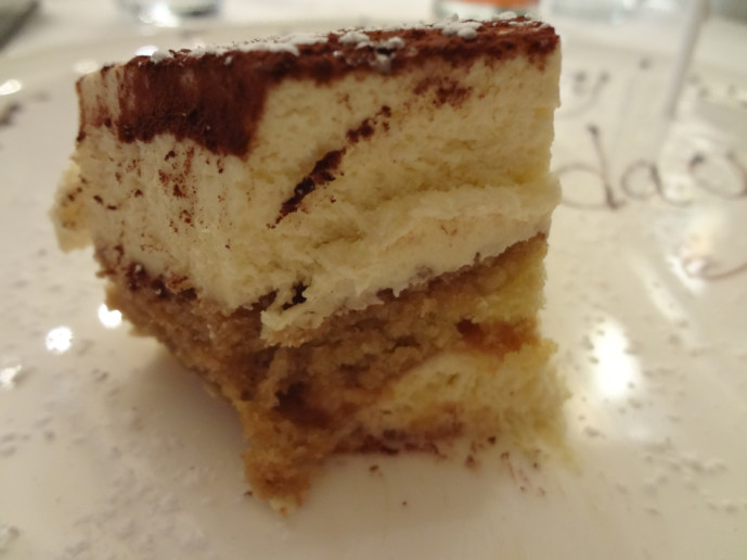 My slice of birthday tiramisu