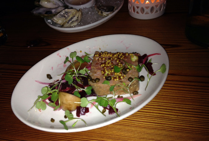 Pork terrine at Cake & Ale