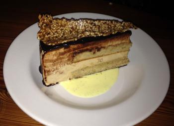 hazelnut bavarian cake