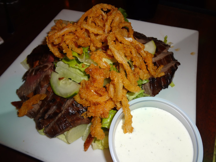 Ana's steak salad