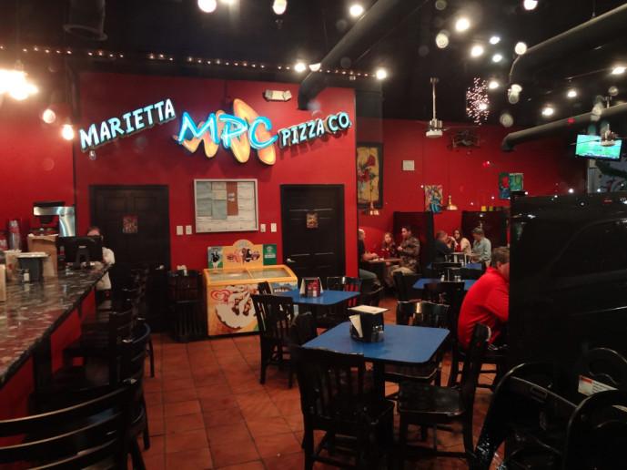 Marietta Pizza Company interior