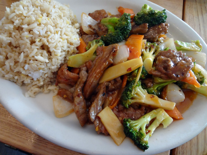 Princess Beef from House of Chan in Smyrna