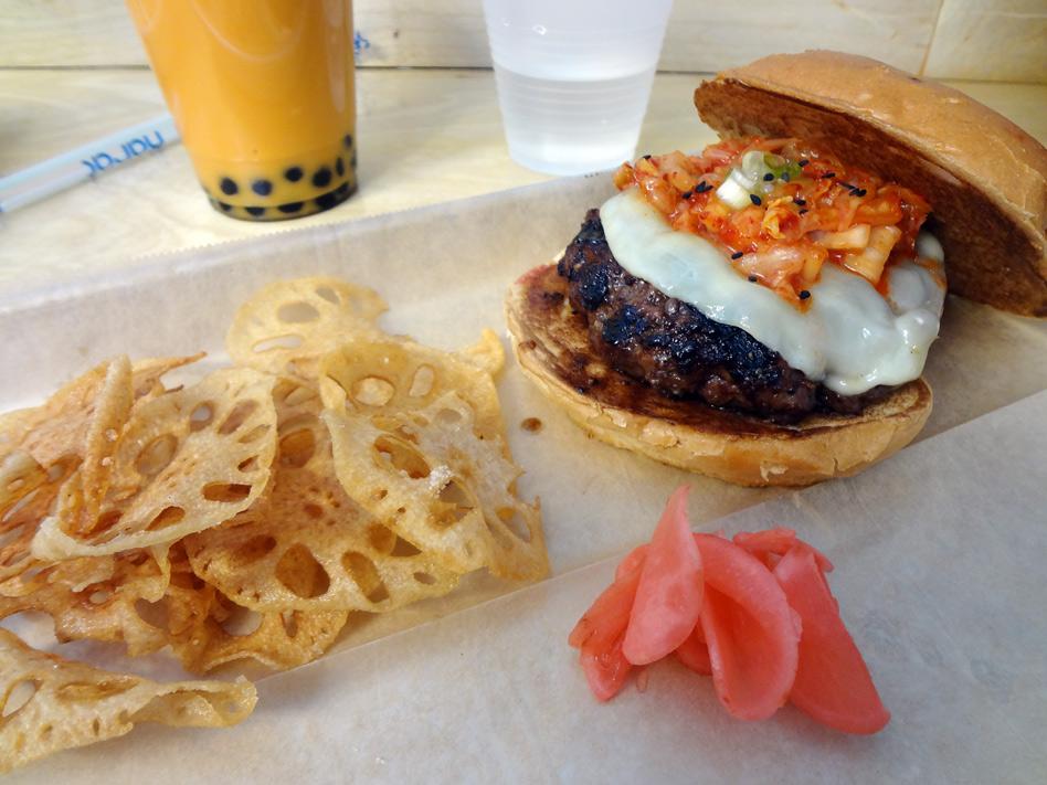 Kimcheese burger