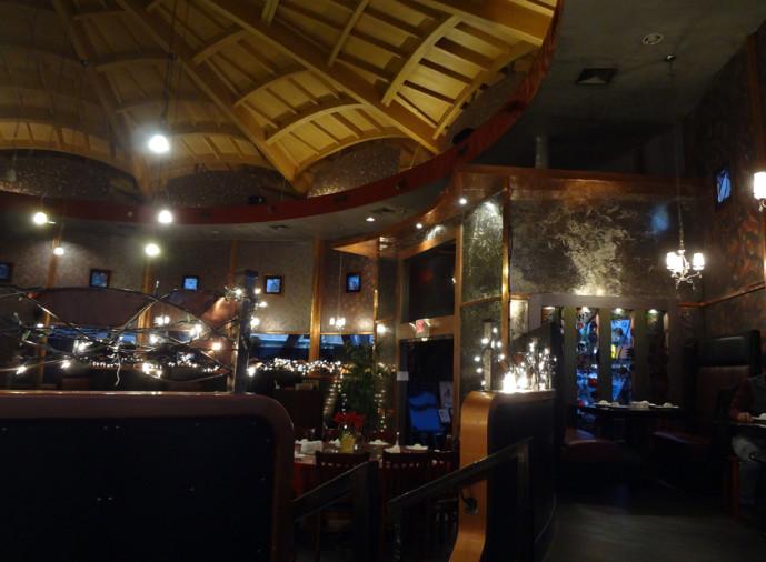 1968 at Café 101 interior