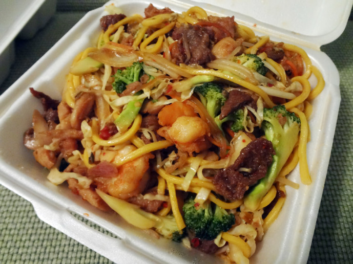Special lo mein from China Bucks