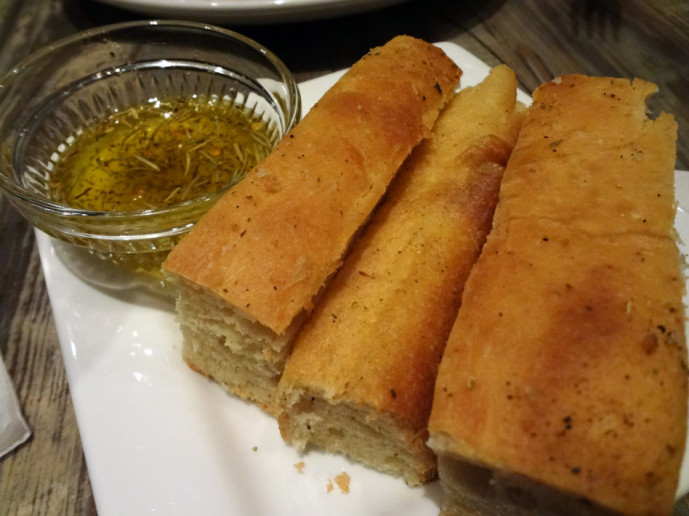 Cibo Rustico bread and oil