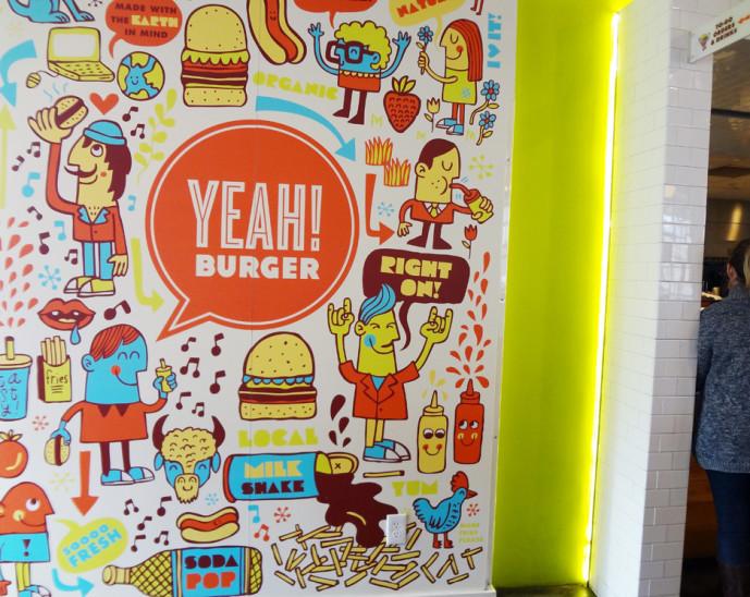 Yeah! Burger interior