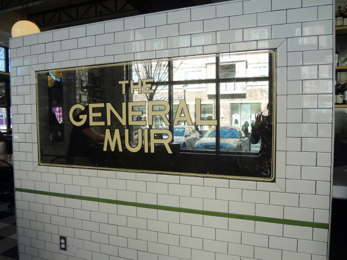 The General Muir interior
