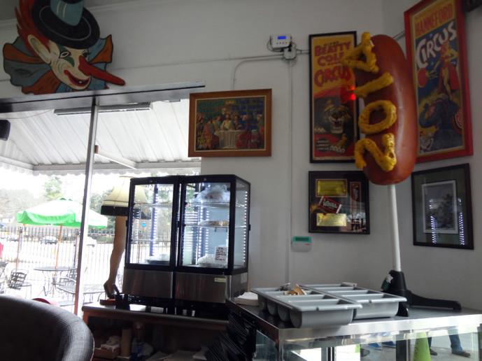 Pallookaville Fine Foods interior