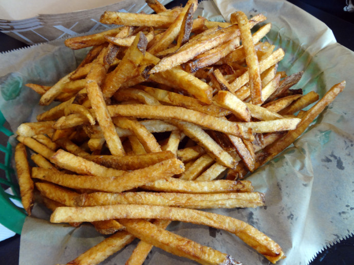 Fries with Grave Dirt
