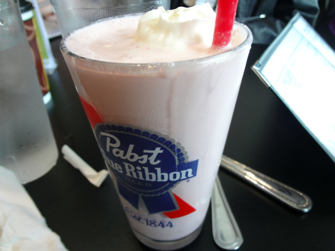 Pallookaville adult milkshake