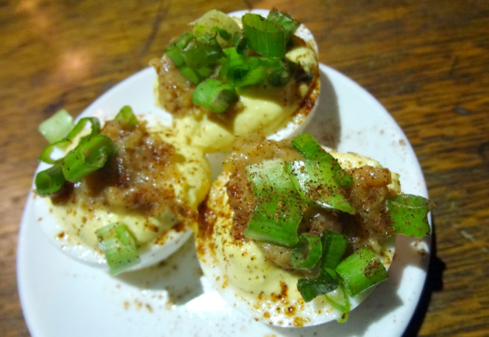 The Smoke Ring - BBQ Deviled Eggs