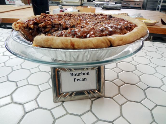 Pie Shop bourbon pecan pie