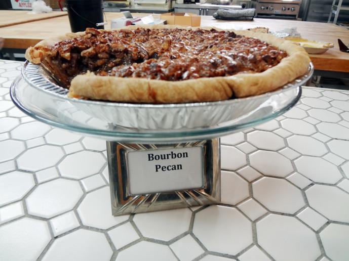 Pie Shop bourbon pecan pie