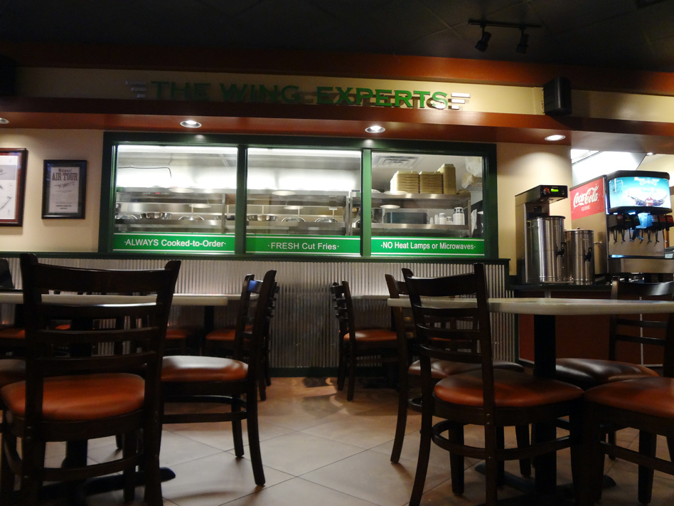 Wingstop interior