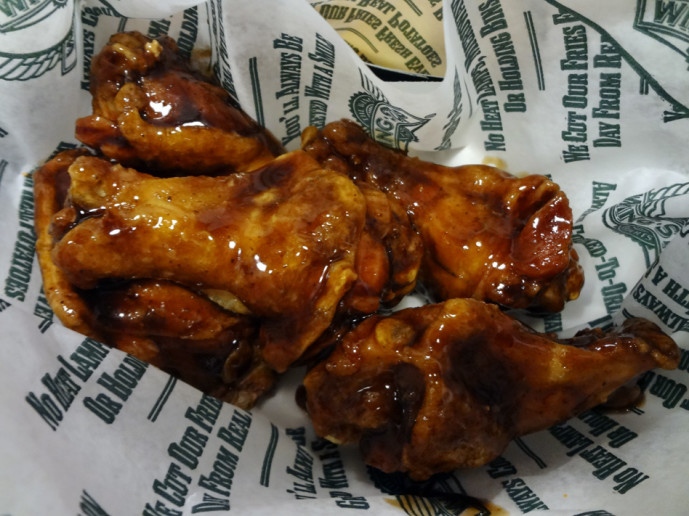 Wing Stop teriyaki classic wings