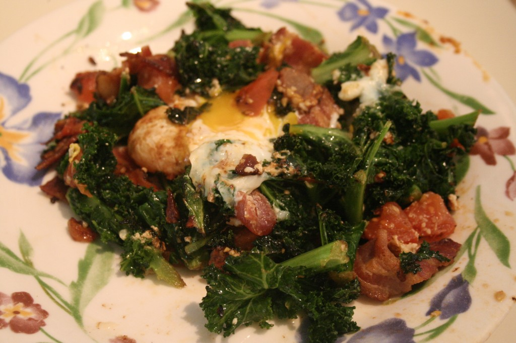 Kale & Bacon Hash