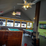 ANother blurry interior shot of J Buffalo Wings