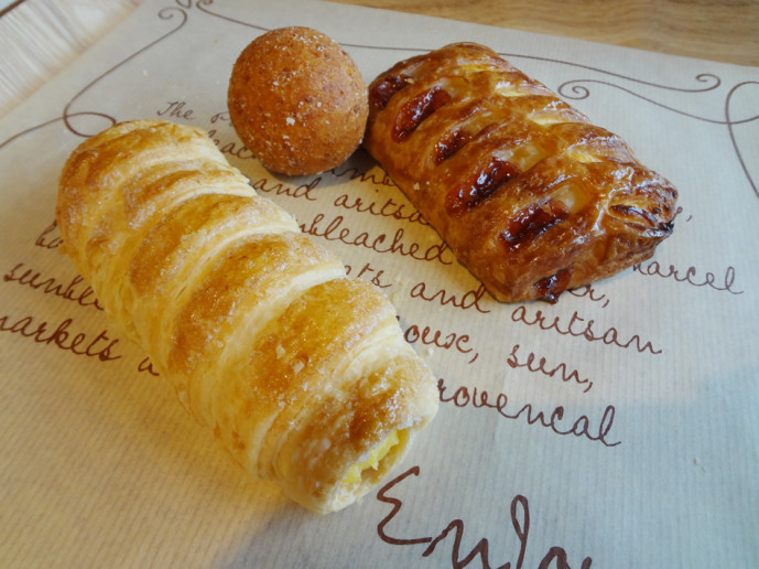 Our Paris  Baguette pastries