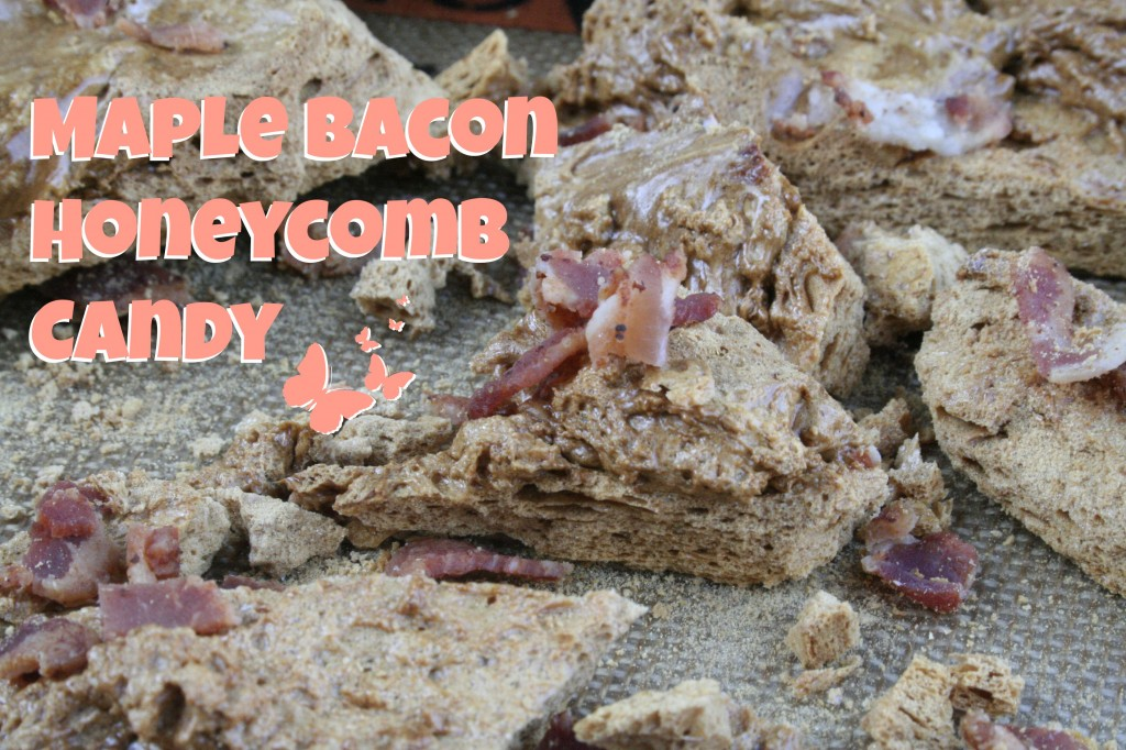 Maple Bacon Honeycomb Candy