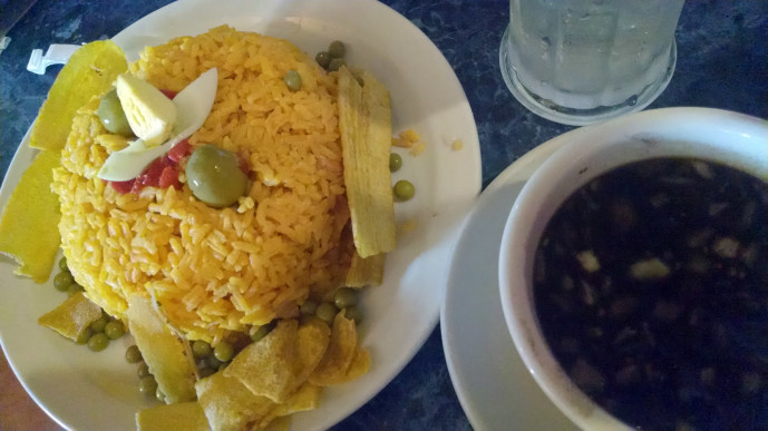 Arroz con pollo from Little Cuba