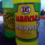 Jamaican Pineapple and Ting from One Love Jerk Grill