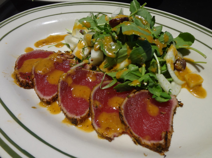 Atlanta ChopHouse & Brewery's ahi tuna