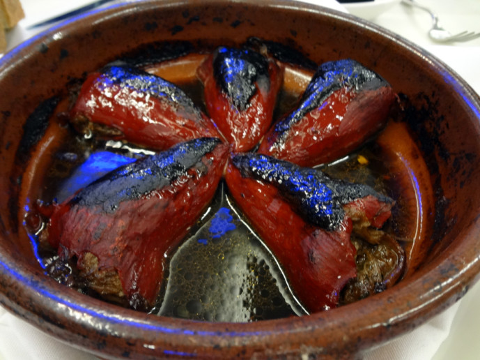 Short Rib Stuffed Piquillo Peppers
