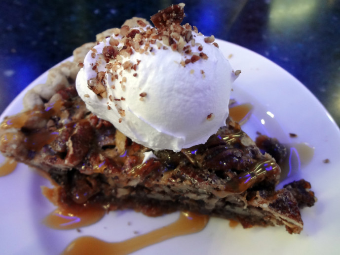 Pecan pie from The Pecan