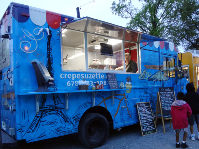 Crepe Suzette Food Truck