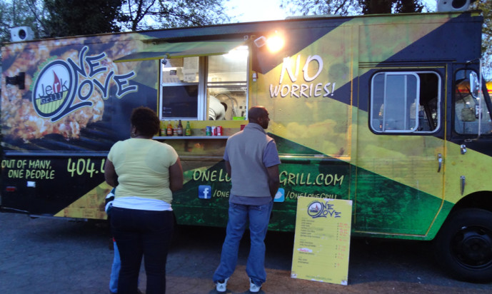 One Love Jerk Grill Food Truck