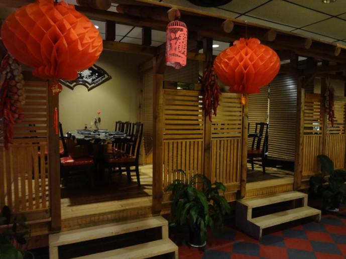 Gu's Bistro booths