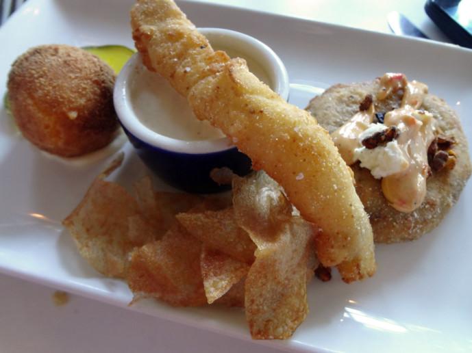 Southern Sampler at Horseradish Grill