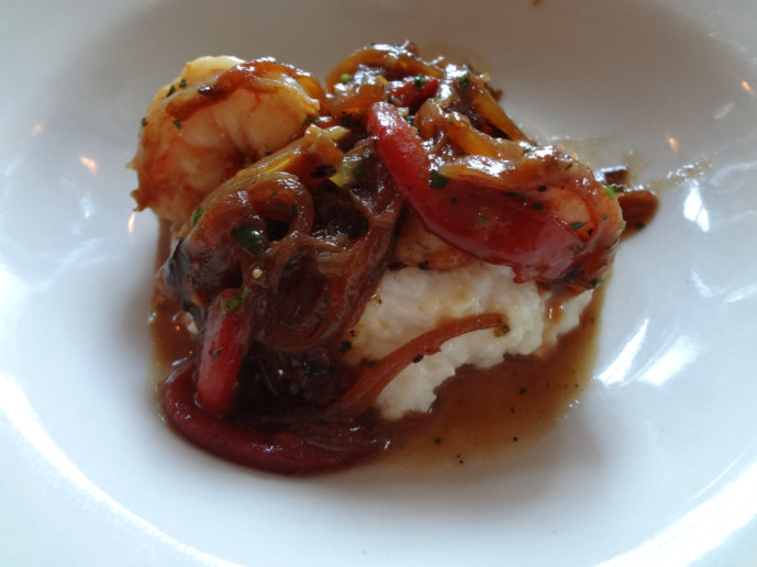 Horseradish Grill shrimp and grits